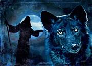 Wolfdog Hybrid Print by Tisha McGee