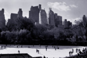 Skating Photo Metal Prints - Wollman Rink Metal Print by Tonino Guzzo