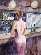 Faruk Koksal - Woman at the Bar