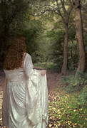 Woman Photos - Woman In Woods by Christopher and Amanda Elwell