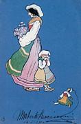 Woman Of Ciociaria, 1904 Print by Umberto Boccioni