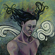 Portrait Of Woman Originals - Woman of Color by Shelly Leitheiser