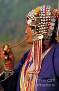 Art Wolfe - Akha Hill Tribe Woman  Thailand