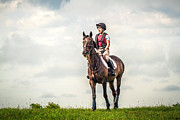 Toni Thomas - Woman on Horse Eventing