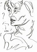 Woman Print by Rachel Scott