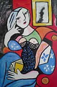 Carol Duarte - Woman Reading a Book