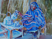 Mohamed Fadul - Woman selling tea