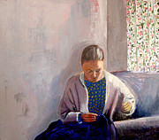 James Gallagher - Woman Sewing