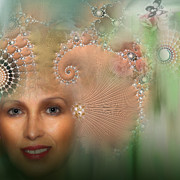 Cid Palacio - Woman With Fractal Hat