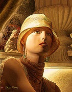 Story Originals - Woman With Hat by Chuck Staley