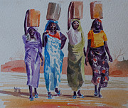 Mohamed Fadul - Women and fetching water
