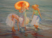 Diane Leonard - Women At The Beach