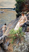 Anders Zorn - Women at the lake 1887