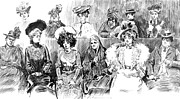 Women Jurors 1902 Print by Padre Art