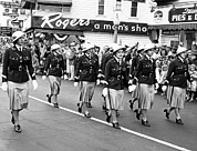 Uniforms Prints - Women Marching In Parade Print by Underwood Archives