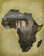 Incorporated Prints - Women of Africa Print by Nichon Thorstrom