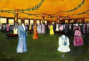 Cincinnati Painting Framed Prints - Womens Suit Section In Mabley And Carew Department Store In Cincinnati Oh 1910 Framed Print by Dwight Goss