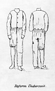 Womens Undergarment, 1878 Print by Granger