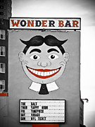 Signage Posters - Wonder Bar Poster by Colleen Kammerer