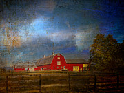 Barns Digital Art - Wonder of the Barn by Pamela Phelps