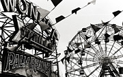 Wonder Photo Framed Prints - Wonder Wheel Framed Print by Madeline Ellis