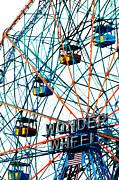Wonder Wheel Pop Art  Print by Anahi DeCanio