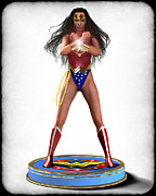 Frederico Borges Art - Wonder Woman v2 by Frederico Borges