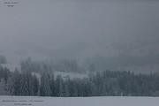 Wonderful Snowy Landscape  . Print by  Andrzej Goszcz