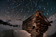 Star Trails Prints - Wonders Of The Night Print by Mike Berenson