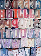 Glenda Zuckerman - Wood Block Letters