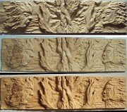 Carving Sculptures - Wood carving sculpture - Protected essence - human face tree hand entalhe madeira woodcraft woodwork by Ton Dias