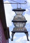 Laurie Perry - Wood Stove Sign