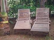 Nandika  Dutt - Wooden Beach Chairs
