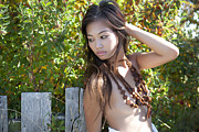 Bare Breasts Photos - Wooden Bead Necklaces 2 by Luscious Models