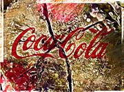 Coca-cola Sign Art - Wooden Coca Cola by Daniel Janda