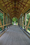 David Hintz - Wooden Covered Bridge