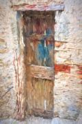 Susan Leonard - Wooden door