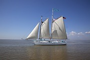 Highsmith Prints - Wooden Schooner Joshua Print by Carol Highsmith
