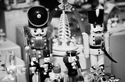 Berlin Germany Prints - wooden toy soldiers on a stall in the christmas market Berlin Germany Print by Joe Fox