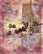 Woodland Flight Print by Tamyra Crossley