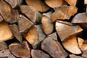 Woodpile Prints - Woodpiles Print by Michal Bednarek