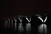 Wilson Posters - Woodrow Wilson Bridge - Washington DC - 011311 Poster by DC Photographer