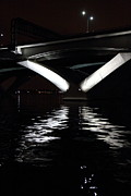 Bridge Metal Prints - Woodrow Wilson Bridge - Washington DC - 011313 Metal Print by DC Photographer