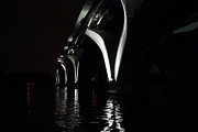 Arch Prints - Woodrow Wilson Bridge - Washington DC - 011325 Print by DC Photographer