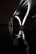 Bridge Art - Woodrow Wilson Bridge - Washington DC - 011327 by DC Photographer