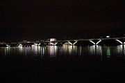 Capital Metal Prints - Woodrow Wilson Bridge - Washington DC - 011344 Metal Print by DC Photographer