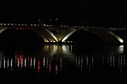 Bridge Art - Woodrow Wilson Bridge - Washington DC - 011349 by DC Photographer