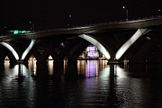 Arch Prints - Woodrow Wilson Bridge - Washington DC - 011354 Print by DC Photographer