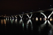 Columbia Prints - Woodrow Wilson Bridge - Washington DC - 011355 Print by DC Photographer