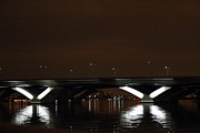 Bridge Photo Metal Prints - Woodrow Wilson Bridge - Washington DC - 011364 Metal Print by DC Photographer